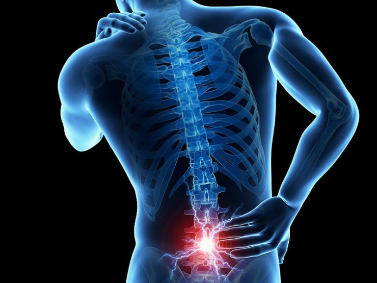 Cure stenosis induced back pain without surgery
