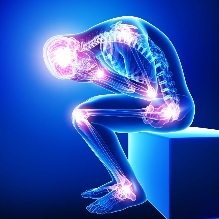 Natural permanent and fast relief from pain without opiods